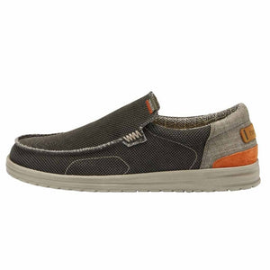 Dude Mikka Sox Mens Kite Classic Sage Slip On Shoes