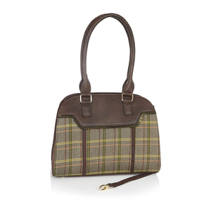 Ruby Shoo Montpellier Ladies Brown Handbag