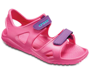 Crocs 204988 Swiftwater River Girls Pink Sandals