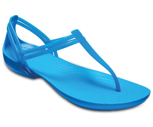 Crocs Isabella T-Strap 202467-425 Ladies Blue Sandal