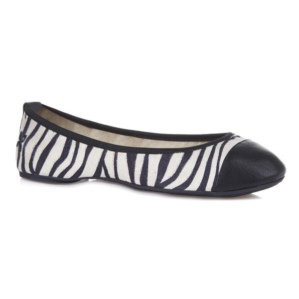 Butterfly Twists Kate Zebra Print Pumps