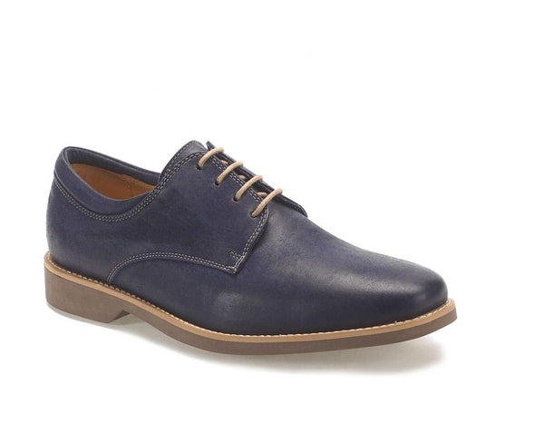 Anatomic Delta Navy Vintage Leather Derby Shoes