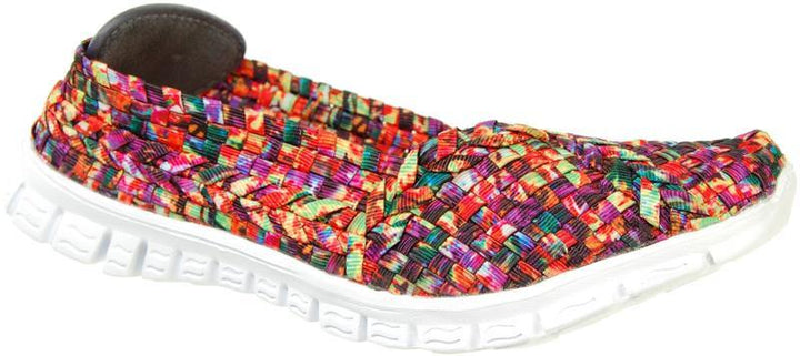 Adesso Lolly A4356 Passion Mix Elasticated Full Shoe - elevate your sole