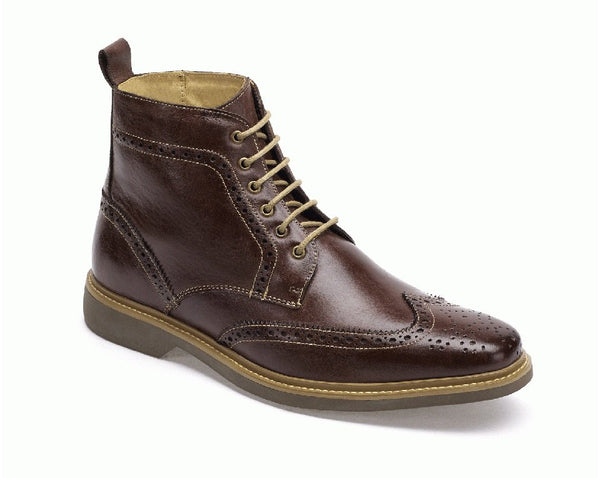 Anatomic Nova II Brown Leather Lace Up Boots