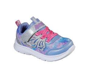 Skechers 302116N Comfy Flex 2.0 Pixie Dazzle Girls Pink Trainers