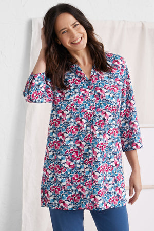 Seasalt Aventurier Ladies Tunic in Samson Flower Charm