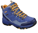 Skechers 158258 Trego Rocky Mountain Ladies Blue Lace Up Walking Boot