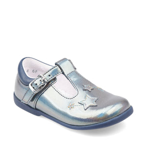 Start-Rite Star Gaze 1478_4 Girl Multi Metallic Patent T-Bar Pre School Shoe
