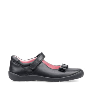 Start-Rite Giggle 2799-7 Black Leather Girls School Shoe