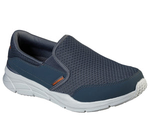 Skechers 232017 Equalizer 4.0 Persisting Mens Charcoal and Orange Slip On Shoes