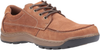Hush Puppies Tucker Mens Tan Leather Lace up Shoes