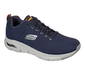 Skechers 232200 Arch Fit Paradyme Mens Navy Lace Up Trainers