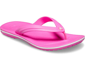 Crocs Crocband Flip Ladies Electric Pink Toe Post Sandals