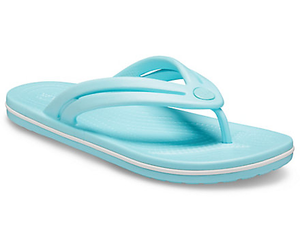 Crocs Crocband Flip Ladies Ice Blue Toe Post Sandals