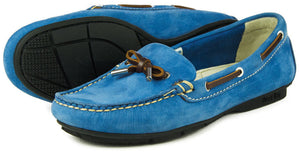 Orca Bay Ballena Ladies Powder Blue Washable Leather Deck Shoes