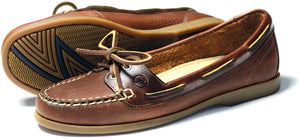 Orca Bay Schooner Ladies Havana Brown Deck Shoes