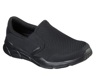 Skechers 232017 Equalizer 4.0 Persisting Mens Black Slip On Shoes