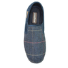 Goodyear Harrison KMG116 Mens Navy Tweed Slippers