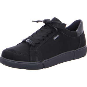 Ara 12-14433-01 Ladies Black Waterproof Lace Up Trainers