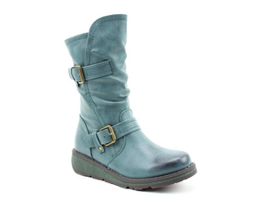 Heavenly Feet Hannah Ladies Ocean Calf Length Boot