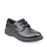Start-Rite Impact 3518-7 Black Girls Leather Lace Up Shoe