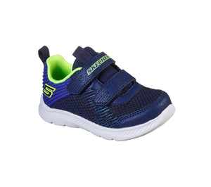 Skechers 400044N Comfy Flex 2.0 Micro Rush Boys Navy Blue Trainers