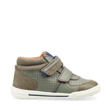 Start-Rite Frisbee 1736_4 Boys Khaki Nubck and Leather Rip-Tape Fastening Boot