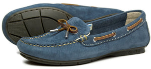Orca Bay Ballena Ladies Denim Blue Leather Deck Shoes