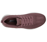 Skechers 32816 Bobs Squad 2 Insta Angel Ladies Mauve Lace Up Trainer