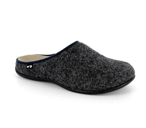 Strive Copenhagen Ladies Dark Grey Mule Slipper