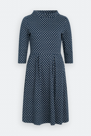 Seasalt Carn Morval Dress Polka Dot Harbour