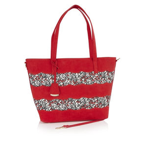 Ruby Shoo Mijas Red Bag - elevate your sole