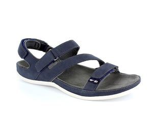 Strive Montana Navy Nubuck Walking Sandals