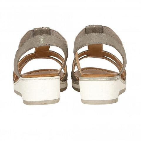 f69dfb70f Lotus Etta Pewter Sandals - elevate your sole