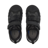 Start-Rite Extreme Pri 2753-7 Boys Black Leather Rip Tape Shoe - elevate your sole