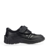 Start-Rite Luke 2273-7 Boys Black Leather Rip-Tape Shoes - elevate your sole