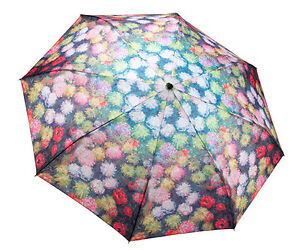 Galleria Umbrella Chrysanthemum 'Monet' Folding Brolly - elevate your sole