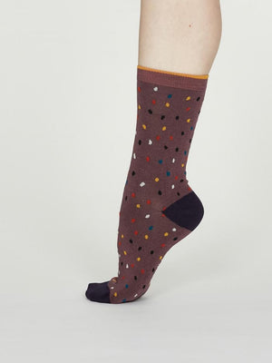 Thought SPW 547 Emme Ladies Bamboo Spotty Socks