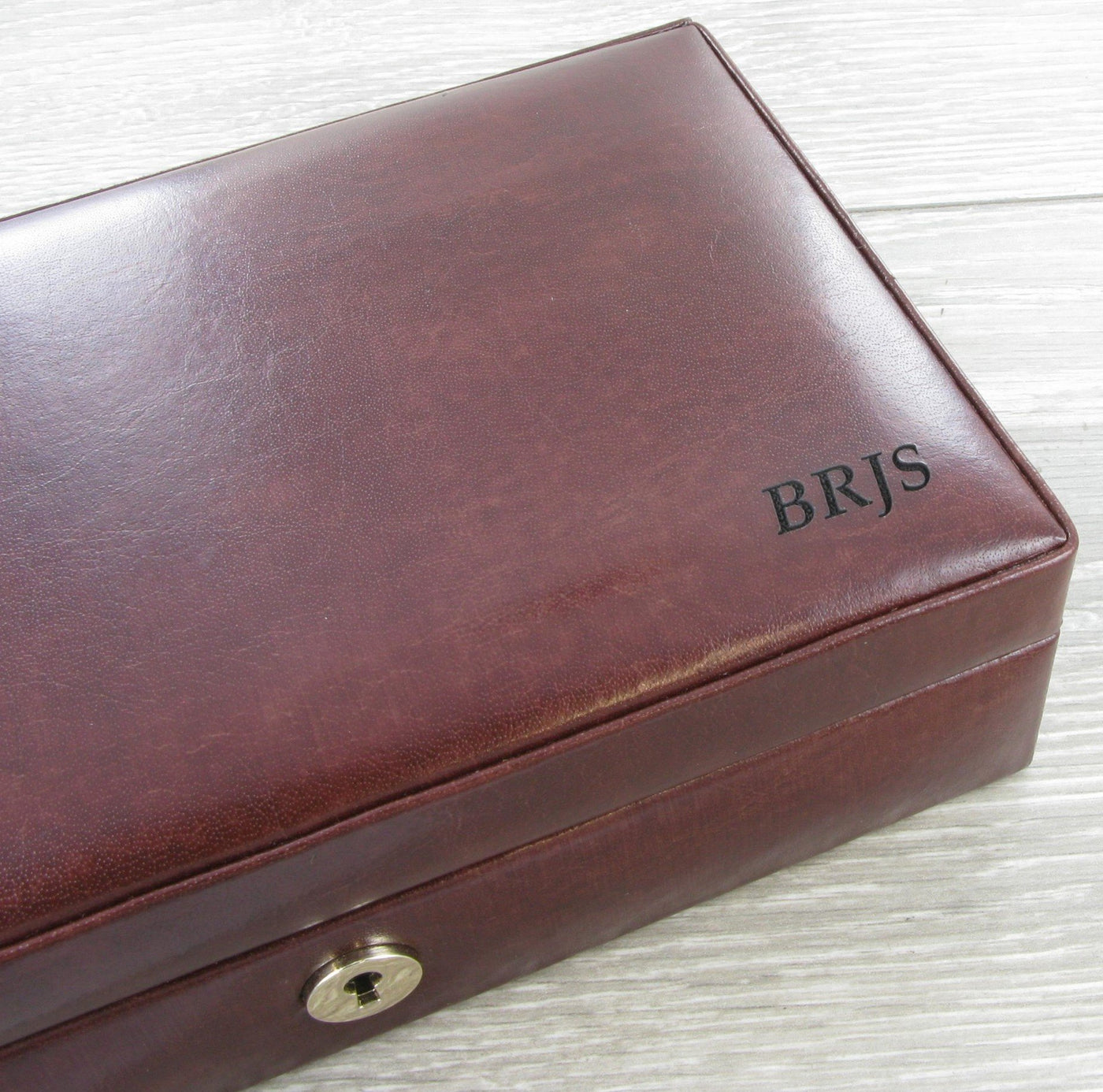 Personalised Engraved Men S Watch Cufflink Jewellery Boxes