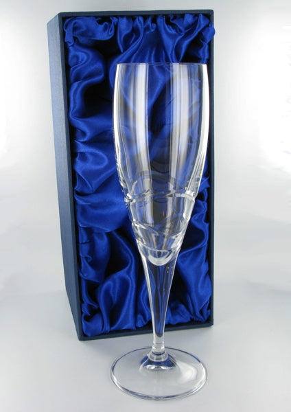 Verona Champagne Flute with Presentation Box & Free Engraving