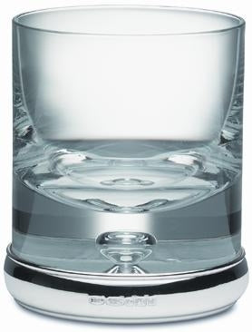 Broadway Krosno Tumbler with Hallmarked Silver Rim