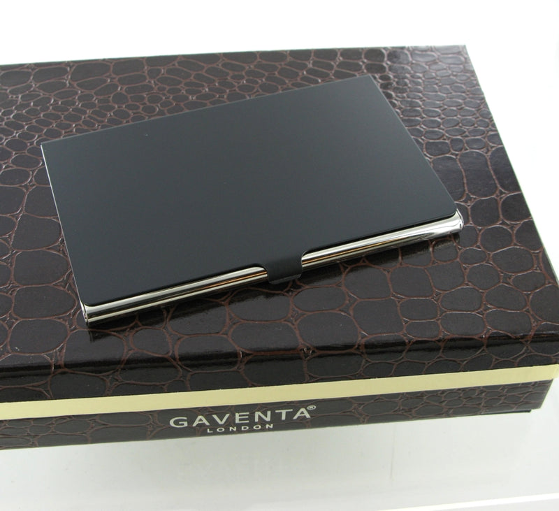 Gaventa Matt Black Business Card Case 2894