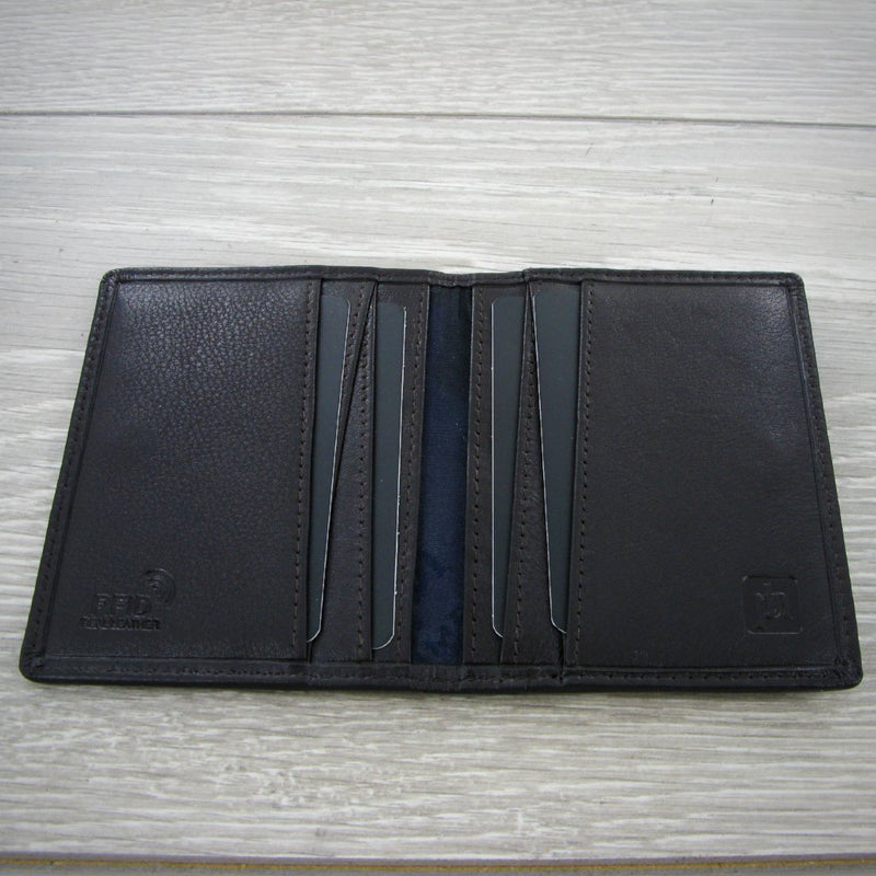 Primehide Urban Brown RFID Mens Leather Credit Card Holder 3301