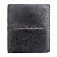 Primehide Woodsman Black RFID Mens Leather Wallet 3902