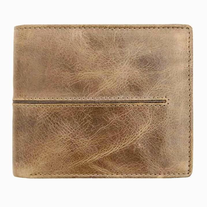 Primehide Woodsman Sand RFID Mens Leather Wallet 3901