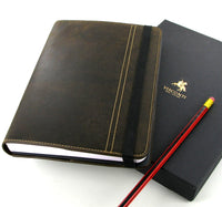 Visconti Columbus A5 Leather Note Pad