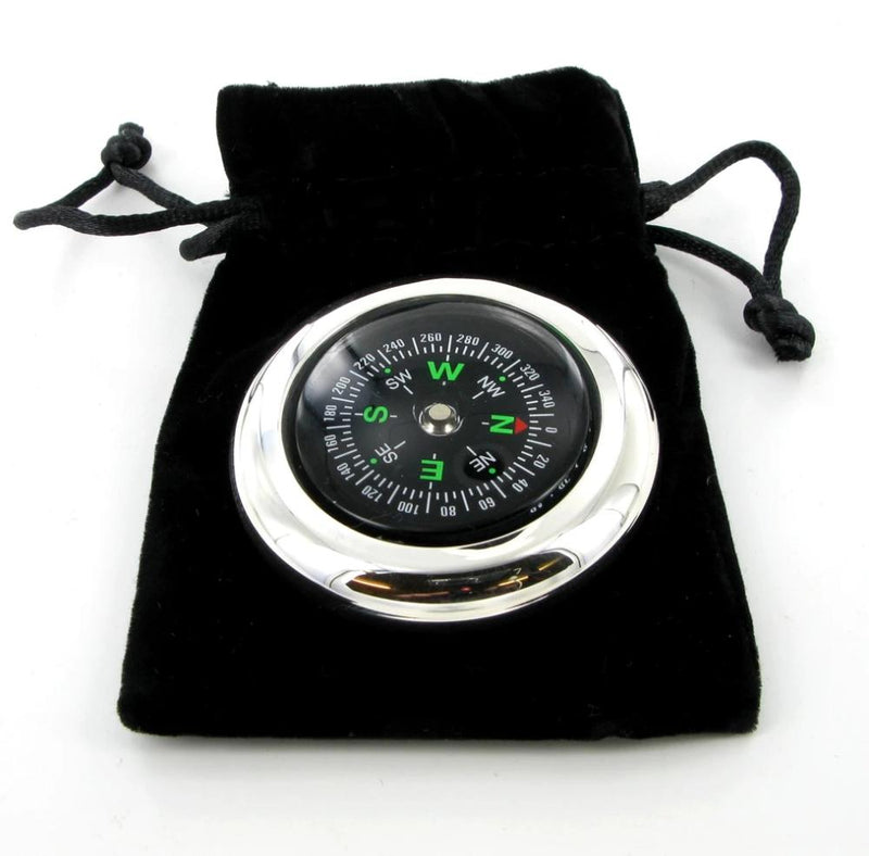 Broadway silver 925 Solid Silver Compass