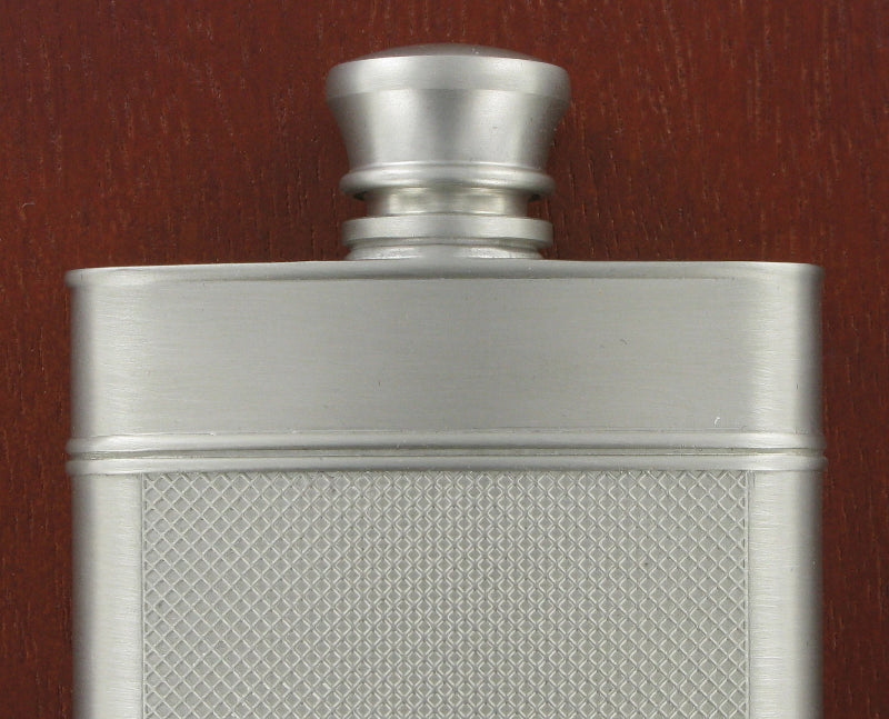 Royal Selangor New Modern Cast Hip Flask 9.5cl & wooden case 094401G