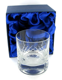 Mayfair Whiskey Tumbler with Presentation Box & Free Engraving
