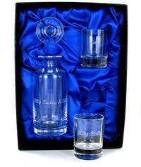 Mini Decanter & Two Shot Glass Set in Presentation Box